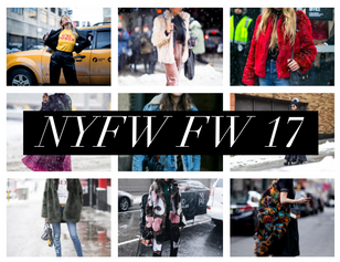 NYFW FW 17 (& EVERYONE LOOKS COLD AF)