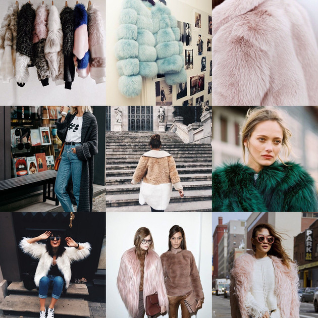 TREND RADAR // TOP 10 FAUX FUR COATS