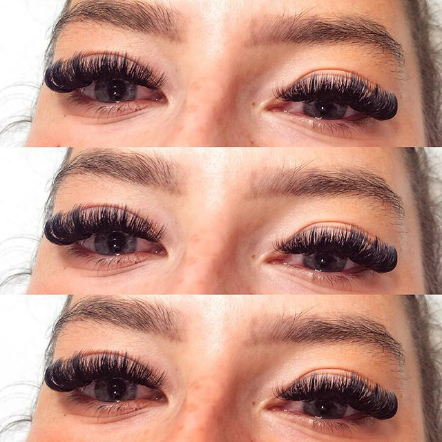 Swipe for lash goals 😍😍