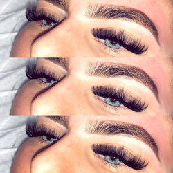 Fresh Russian Volume Lashes & The Brow R