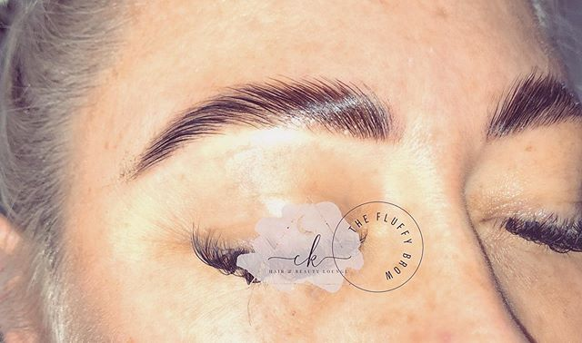 thicker brows_ A pain free
