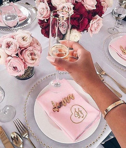 Girl goals 💕 Champagne tea party...