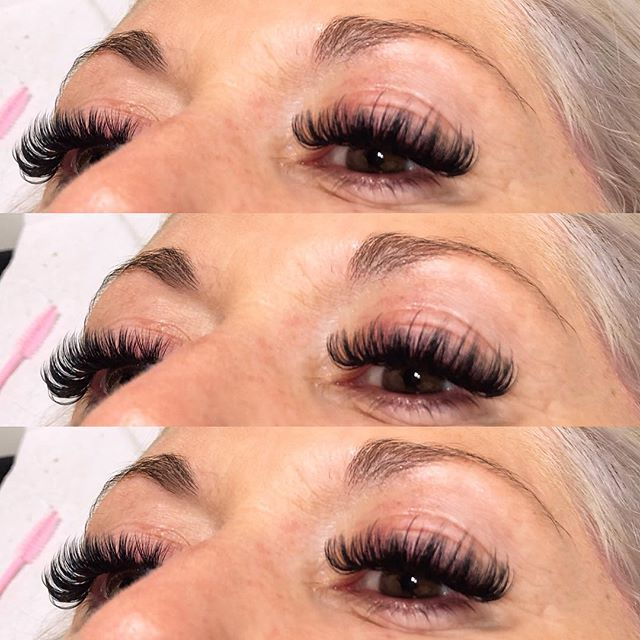 Russian Volume Lashes 😍