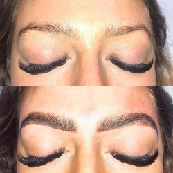 Brow Lamination was FUN 🖤