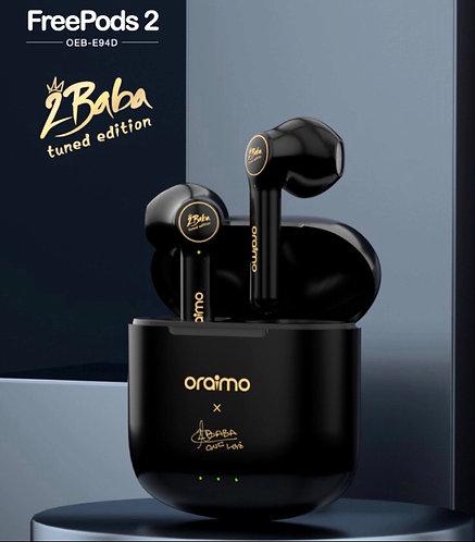 Oraimo Freebopds2 black new edition