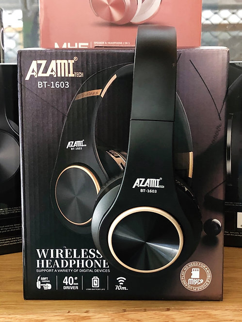 Azami-tech wireless casque BT-1603