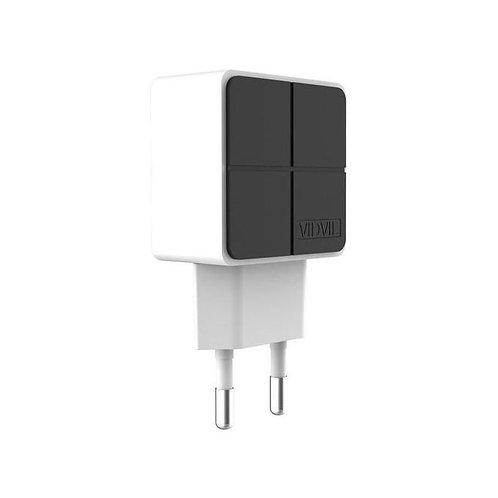 Vidvie CHARGEUR SECTEUR 2 PORTS USB 2.1 A PLE-204 VIDVIE