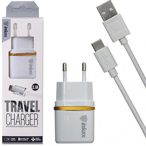 Inkax travel charge 2.1A
