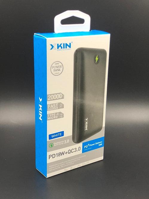X-KIN power bank 20000mah 18w fast charge