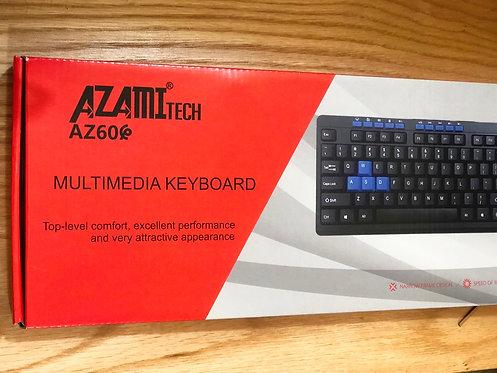 Azami-tech multimédia keyboard Az60