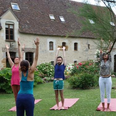Cours de yoga dans le Perche