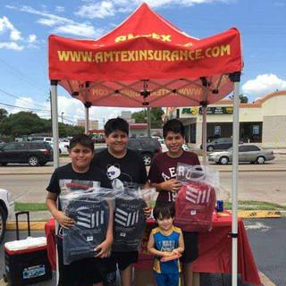 Kids-Backpacks-Free School supplies Lyons Av Houston TX 1