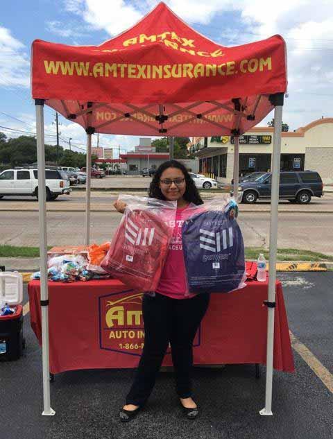 Amtex Auto Insurance Lyons Location   BaKids-Backpacks-Free School supplies Lyons Av Houston TX 5