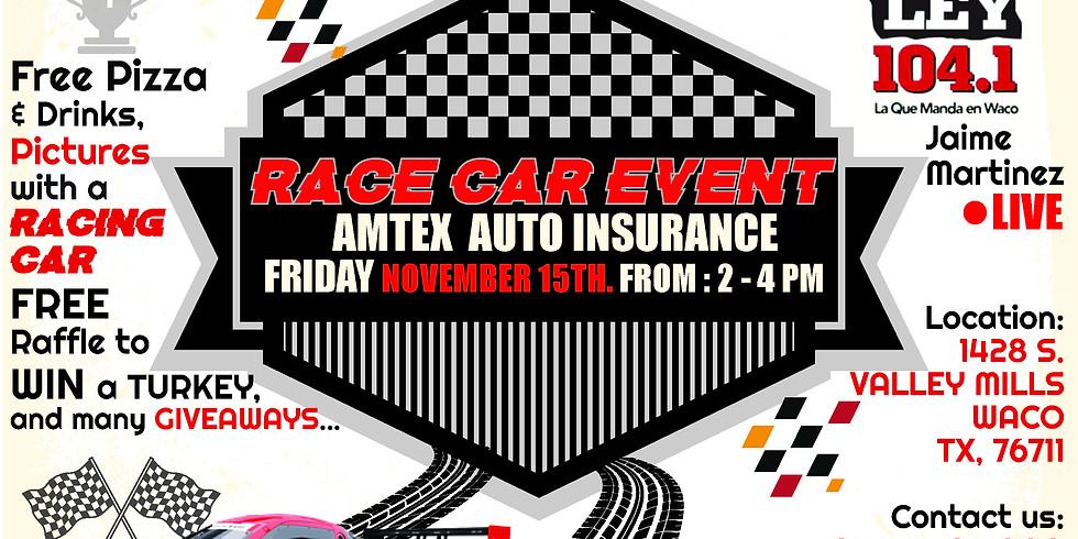 Race Car Event Gainsco- Amtex Insurance