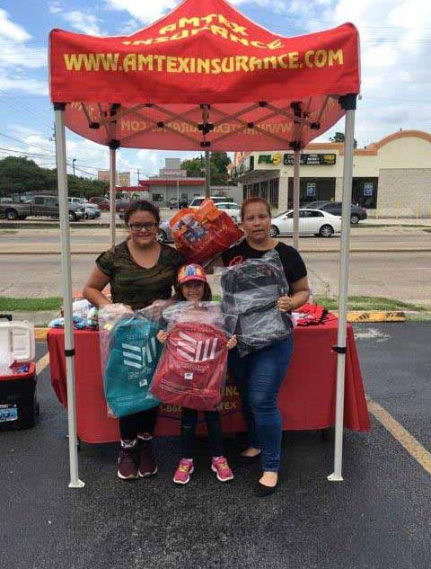 Kids-Backpacks-Free School supplies Lyons Av Houston TX 4