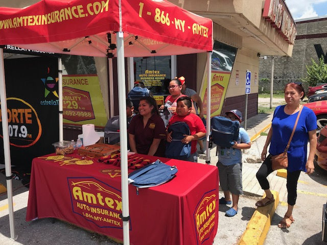 Amtex Insurance Backpack Giveaway