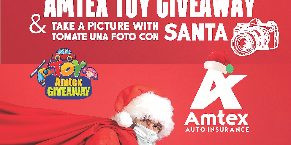 Take a Picture with Santa At Amtex Participant Stores