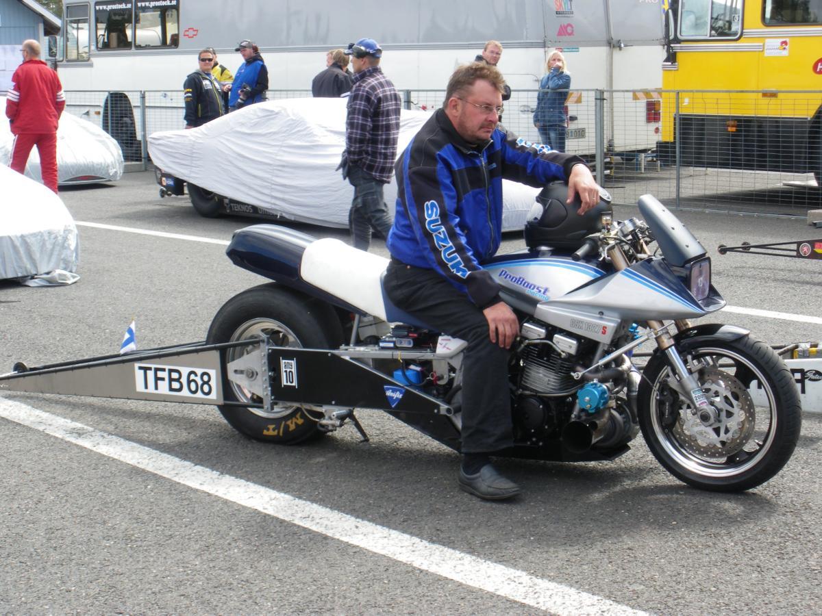 Suzuki Katana proBoost Funny Bike