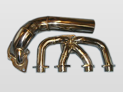ProBoost stainless steel exhaust manifold and down pipe