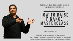 #Startup & #Scaleup:  How To Raise Finance Masterclass (audio)