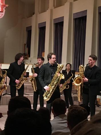 U-M Sax Ensemble #1