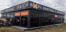 Projekt: Hofer-Eventfiliale