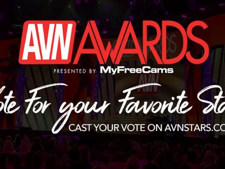 Vote for me in the AVN awards