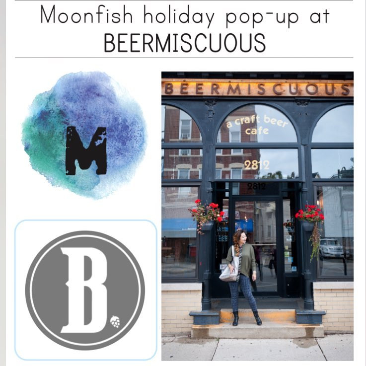 PopUp at Beermiscuous 11/10-11/13!