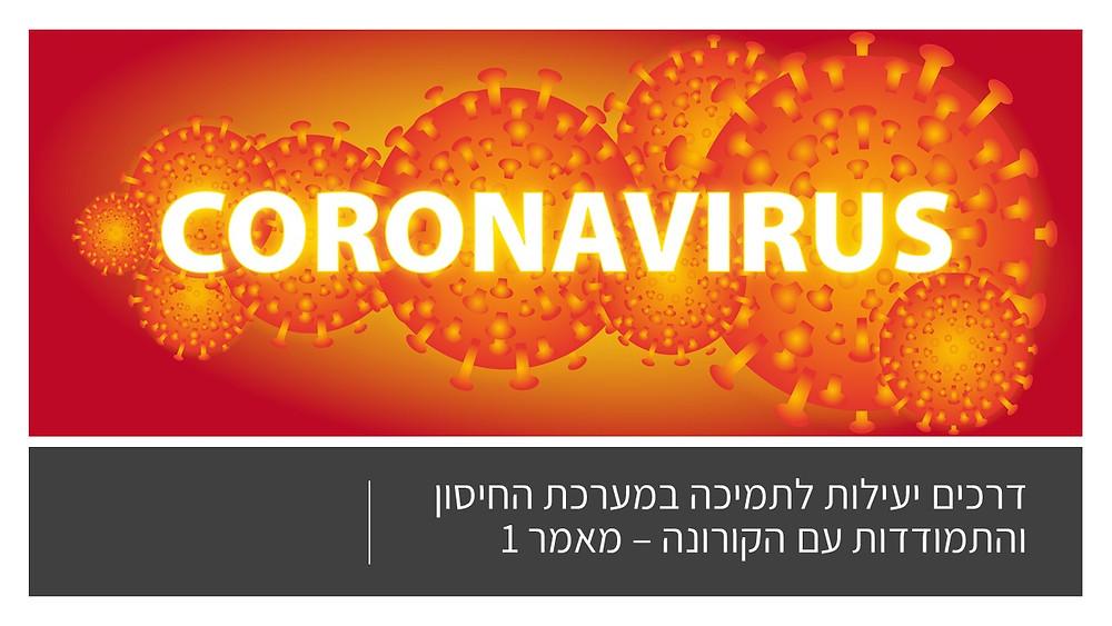 דרכים יעילות לתמיכה במערכת החיסון והתמודדות עם הקורונה-מאמר 1-גליה יהודה-הבית לנטורופתיה