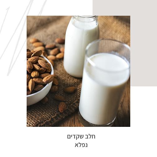 חלב שקדים נפלא-גליה יהודה וותיקת הנטורותים-הבית לנטורופתיה במודיעין