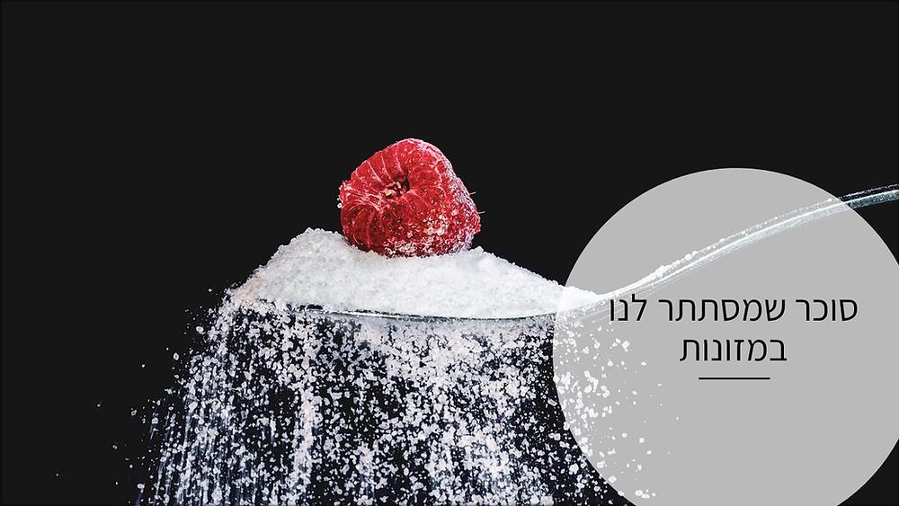 -סוכר שמסתתר לנו במזונות-גליה יהודה-הבית לנטורופתיה