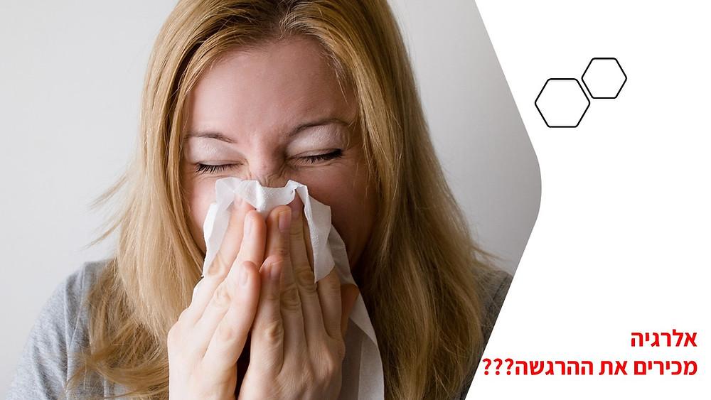 אלרגיה המדריך המלא