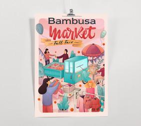 Bambusa fall fair poster