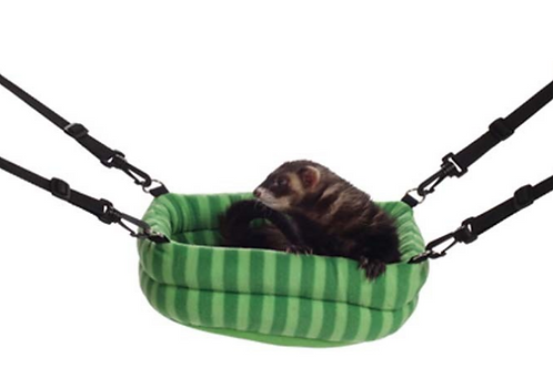 CAGE ACCESSORY 2-N-1 FERRET BED