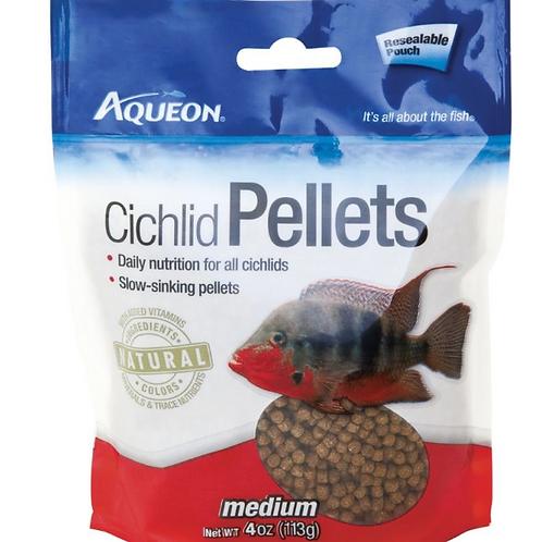 AQUEON CICHLID PELLETS -MEDIUM