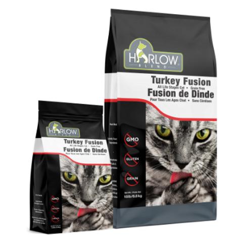 GRAIN FREE TURKEY FUSION CAT FOOD