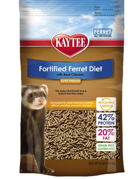 KAYTEE FERRET DIET