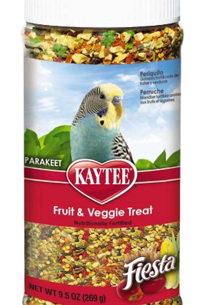 KAYTEE FIESTA PARAKEET FRUIT VEGGIE JAR