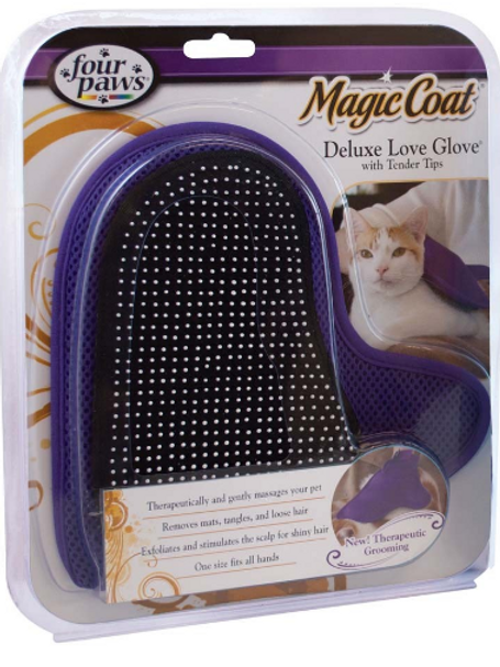 FOUR PAWS DELUXE LOVE GLOVE FOR CATS