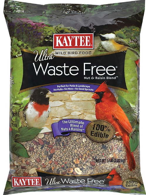 KAYTEE WASTE FREE NUT & RAISIN BLEND