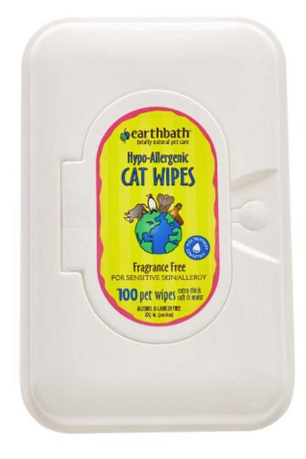 EARTHBATH HYPO-ALLERGENIC CAT WIPES