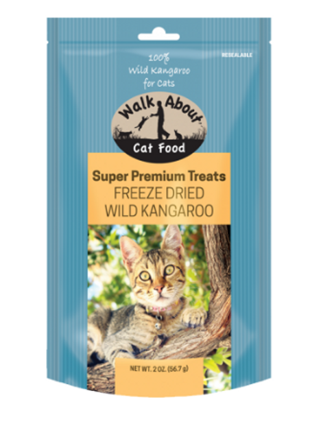 FREEZE DRIED KANGAROO CAT TREATS