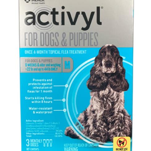 ACTIVYL SPOT-ON DOG & PUPPIES