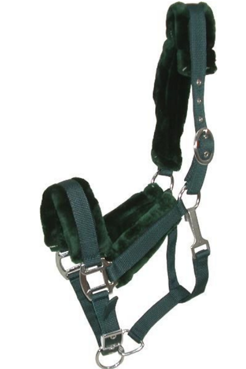 GATSBY NYLON HALTER W/REMOVABLE FLEECE COB