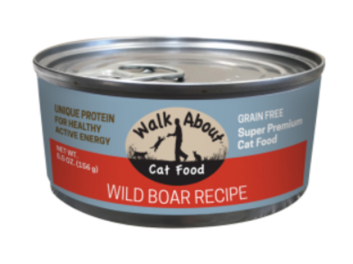 WILD BOAR CANNED CAT FOOD