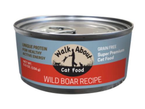 WILD BOAR CANNED CAT FOOD