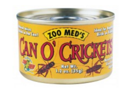 ZOO MED CAN O'CRICKETS