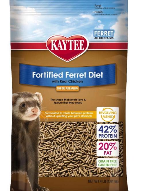 KAYTEE FERRET CHICKEN DIET