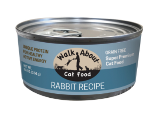 RABBIT CANNED CAT FOOD