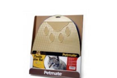 PETMATE FLEXIBLE LITTER MAT - ASSORTED